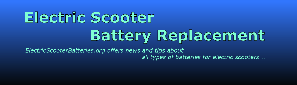 Electric Scooter Battery Replacement